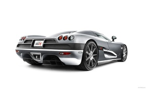 Wallpaper Koenigsegg, Grey, White
