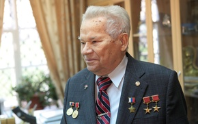 Picture medals, 10.11.1919 - 23.12.2013, the Creator of the legendary machine, weapons designer, Mikhail Timofeevich Kalashnikov