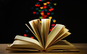 Picture lights, background, Wallpaper, mood, book, wallpaper, owner, widescreen, page, background, bokeh, full screen, HD wallpapers, …