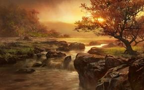 Picture Stones, Pictures, Landscapes, Nature, Rapids