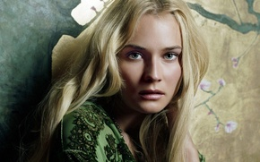 Picture look, face, hair, actress, blonde, Diane Kruger, photoshoot, model, Diane Kruger