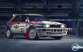 Picture Top Gear, Lancia, Delta, Martini Racing, Integrale