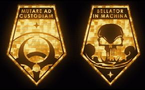 Picture xcom, xcom: enemy within, xcom logo, bellator in machina, mutare ad custodiam
