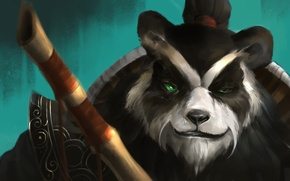 Picture face, Panda, World of Warcraft, Warcraft, wow, hots, Heroes of the Storm, Chen