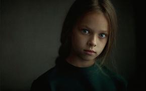 Picture background, portrait, girl, Studio
