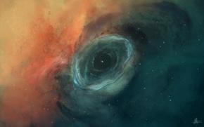 Picture space, nebula, stars, JoeJesus