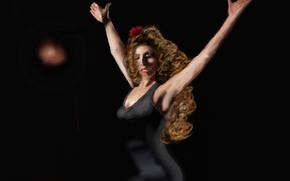Wallpaper flamenco, dancer, Spain, girl
