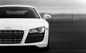 Picture audi, desktop, supercar, white, audi r8, cars, auto, cars walls, Supercars, Wallpaper HD, audi wallpapers