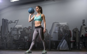 Picture ball, workout, fitness, gym