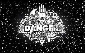 Wallpaper abstract, you, danger, hand