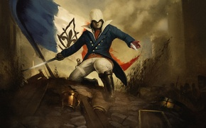 Picture Assassin, Arno, Assassin's Creed Unity