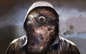 Picture the universe, Mr., stars, space, hood
