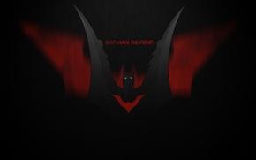 Picture Batman, Logo, Beyond, Batman Beyond