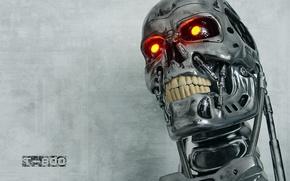 Picture robot, terminator, t800