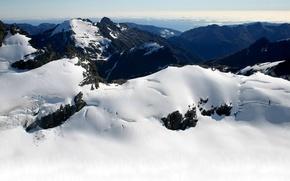 Wallpaper snow, cold, mountains