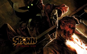 Picture the corpse, spawn, spawn