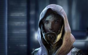 Picture alien, Tali Zorah, Mass Effect