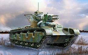 Picture figure, art, Panzerkampfwagen, New vehicle, Rheinmetall, experienced German medium tank, Nb.Fz., machine new construction