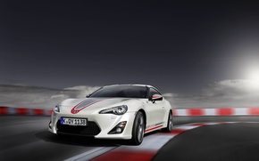 Picture Auto, The hood, Toyota, GT86, GT 86, Cup Edition, The Front Headlights
