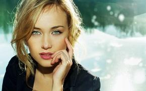 Picture eyes, girl, face, hair, portrait, blonde, USgal