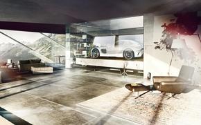 Picture design, room, interior, Mercedes, mercedes sls
