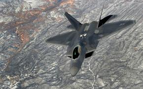 Picture fighter, F-22, Raptor, multipurpose