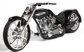 Picture black, bike, Tune