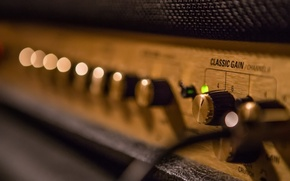 Picture music, 100W Marshall, Classic Gain