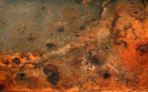 Wallpaper metal, rust, red, texture