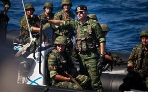 Picture Sea, landing, Infantry, minutes, Nikiforov, black beret, Marines, Denis