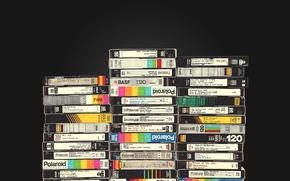 Picture style, retro, magazine, VHS