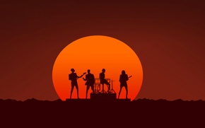 Picture group, poster, song, daft punk, electronic music, random access memories, single, get lucky