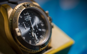 Picture macro, watch, macro, watches, invicta
