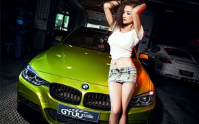 Picture BMW, Girl, Model, 3 Series, Shirt, Mike, Photoshoot, Korean, F35, Iraq Direction
