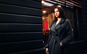 Picture the city, makeup, coat, Lena
