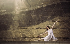 Picture dance, grace, ballerina, Pointe shoes