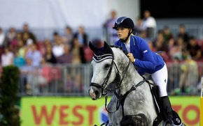 Picture athlete, Horse riding, Show jumping, nausnice