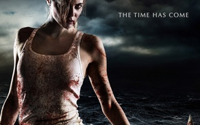 Picture demon, girl, zombie, blood, biohazard, devil, sea, woman, red eyes, survivor, spanish, evil, film, Apocalypse, …