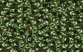 Picture Wallpaper, texture, army, camouflage, military