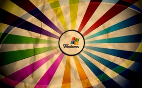 Picture color, colors, Microsoft Windows, wrinkled paper