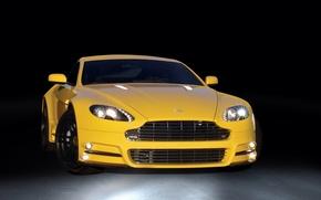 Picture Aston martin, mansory, yellow, v8 vantage