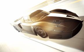 Picture light, Ferrari, speed, GranTurismo6, FXX '07