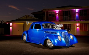 Picture night, ford, Ford, hot rod, hq Wallpapers