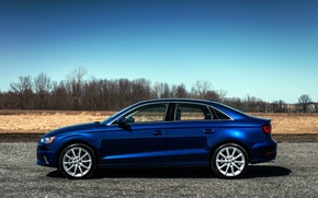 Picture Audi, Audi, blue, 2015, 2.0T