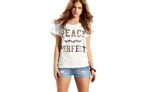 Picture white, girl, sweetheart, model, white, beauty, Barbara Palvin