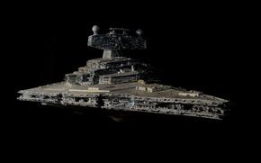 Picture Star Wars, design, Star Destroyer, battlecruiser