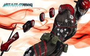 Picture Metal Gear Rising, Revengeance, Cyborg Ninja, Desperado Enforcement Group, MGR, Dystopia, Monsoon
