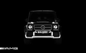 Picture Mercedes-Benz, black, Mercedes, AMG, brabus, Gaelic, g, G-Class, G 65, G 63, 2016, gelendvagen