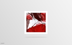 Picture Size Records, White, Dmitry Ushakov, Grey, Red, Water, Colors
