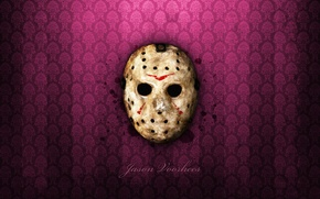 Wallpaper friday the 13th, mask, wallpaper, horror, Jason
